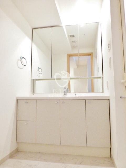 KDXレジデンス白金1[306号室]の独立洗面台 KDXレジデンス白金1