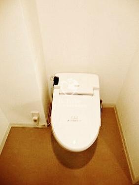 パークアクシス渋谷桜丘サウス[201号室]のトイレ パークアクシス渋谷桜丘サウス