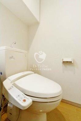 エルスタンザ白金[402号室]のトイレ KDXレジデンス白金3