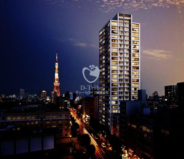 グランスイート麻布台ヒルトップタワーの外観写真