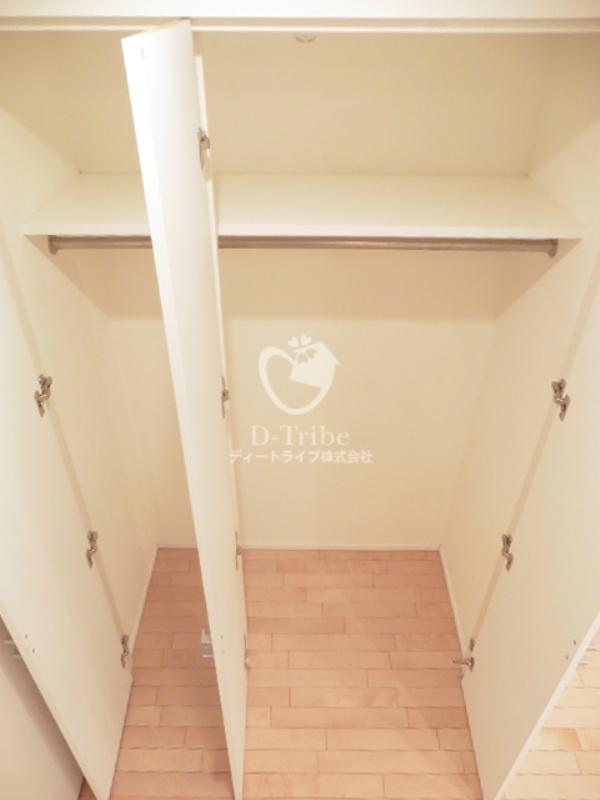 レジデンス白金コローレ[114号室]の収納 レジデンス白金コローレ