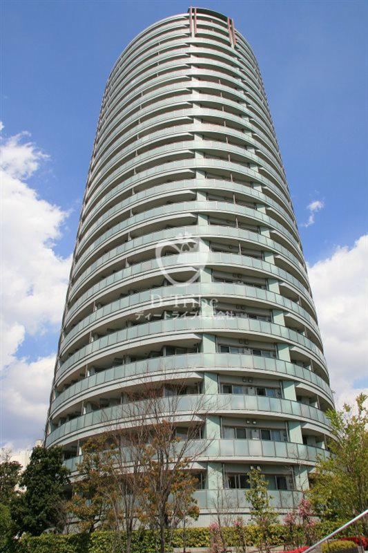 ドレッセ目黒インプレスタワーの外観写真
