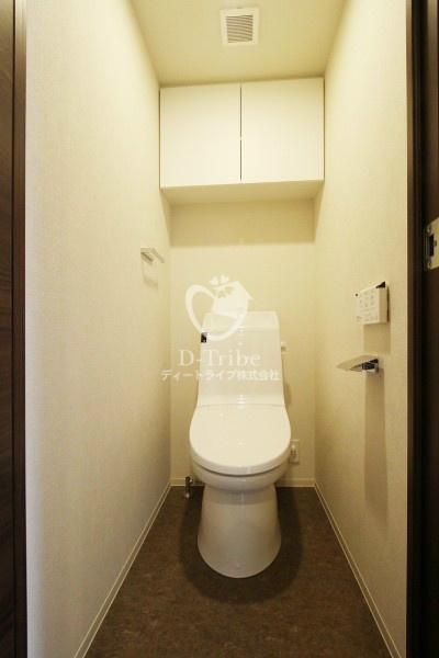 カーサスプレンディッド虎ノ門新橋[1302号室]のトイレ カーサスプレンディッド虎ノ門新橋