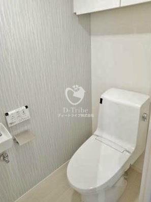 パーク・アヴェニュー神南[1206号室]のトイレ パーク・アヴェニュー神南