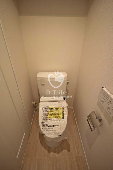 渋谷プロパティータワー[1306号室]のトイレ 渋谷プロパティータワー