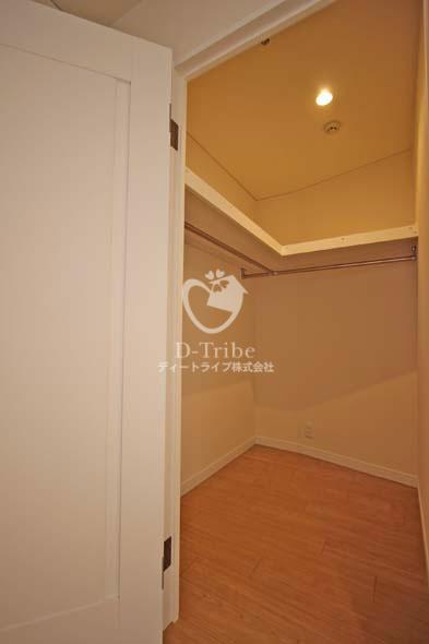 渋谷プロパティータワー[1306号室]のウォークインクローゼット 渋谷プロパティータワー
