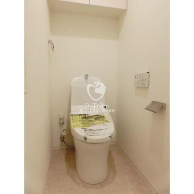 ウェンブリー表参道[902号室]のトイレ ウェンブリー表参道