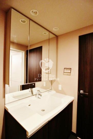 ベルファース芝浦タワー[2205号室]の独立洗面台 ベルファース芝浦タワー