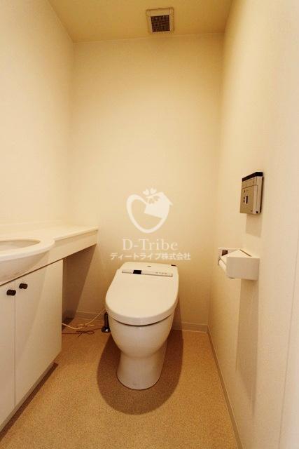 MFPR代々木タワー[1401号室]のトイレ MFPR代々木タワー