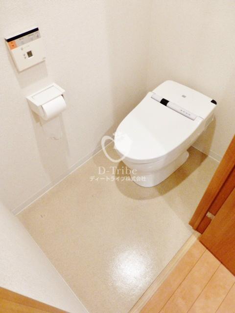 ブライトイースト芝浦[709号室]のトイレ ブライトイースト芝浦