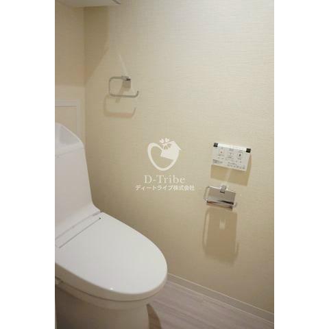 レジオン白金クロス[407号室]のトイレ レジオン白金クロス