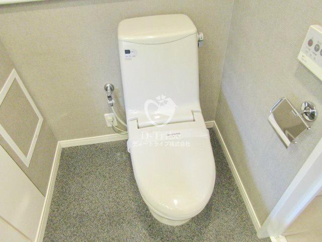 アデニウム高輪[603号室]のトイレ アデニウム高輪