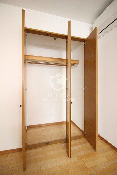 元麻布フォレストプラザ2[304号室]の収納 元麻布フォレストプラザ2