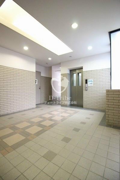 エレベーターホール 元麻布フォレストプラザ2