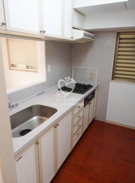 Tフラッツ南麻布[2階号室]のキッチン Tフラッツ南麻布