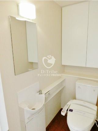 レジディアタワー麻布十番[1305号室]のトイレ レジディアタワー麻布十番