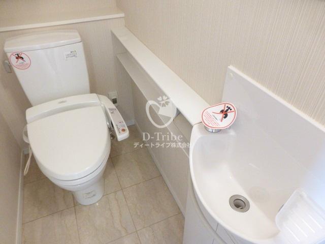 レジディアタワー麻布十番[604号室]のトイレ レジディアタワー麻布十番