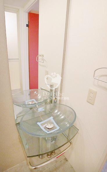 セゾン・デ・ブランシェ青葉台[301号室]の洗面所 セゾン・デ・ブランシェ青葉台