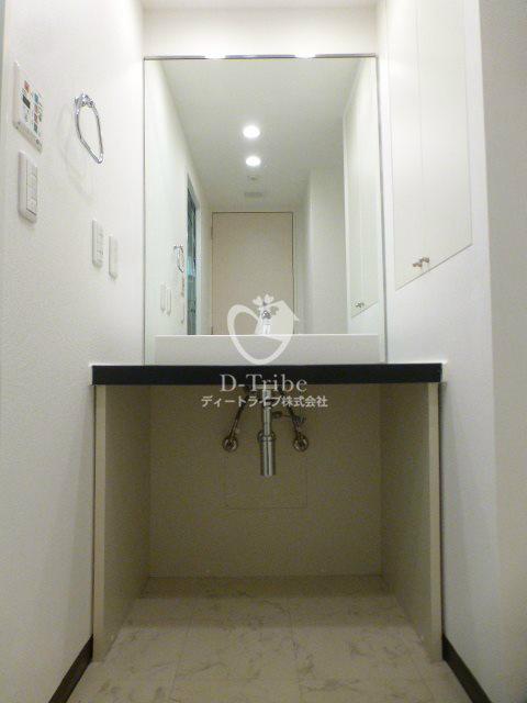 CARO南青山[302号室]の洗面所 CARO南青山