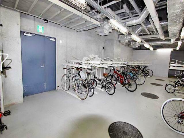 駐輪場 イプセ渋谷