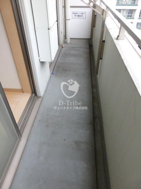 アイム白金高輪[801号室]のバルコニー アイム白金高輪