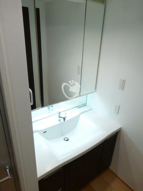 ホライズンプレイス赤坂[1006号室]の独立洗面台 ホライズンプレイス赤坂