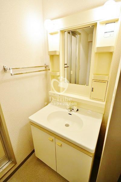 フォレストコート[201号室]の洗面台 フォレストコート