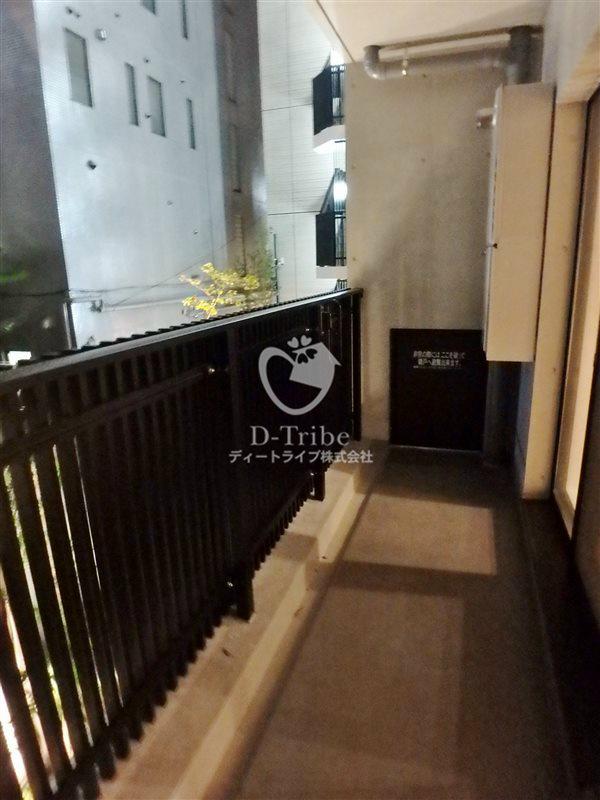 KDXレジデンス恵比寿[505号室]のバルコニー エルスタンザ恵比寿南