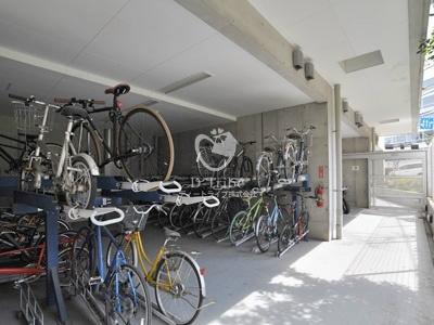 駐輪場 プレミアブラン代々木公園