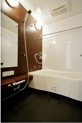 MFPR目黒タワー[1805号室]のバスルーム MFPR目黒タワー