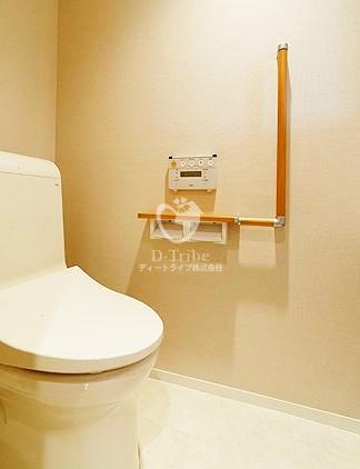 恵比寿ガーデンテラス弐番館[411号室]のトイレ 恵比寿ガーデンテラス弐番館