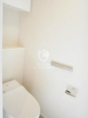 パークアクシス赤坂見附[705号室]のトイレ パークアクシス赤坂見附
