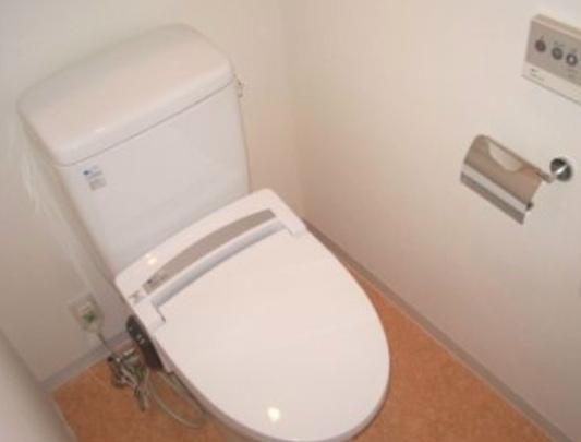 パークルージュ赤坂檜町[708号室]のトイレ パークルージュ赤坂檜町