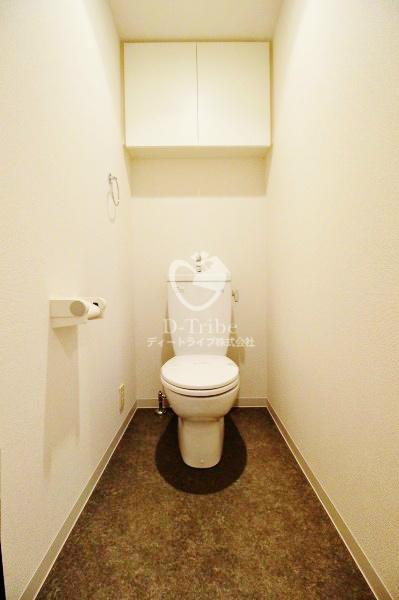 パークタワー芝浦ベイワード アーバンウイング[1701号室]のトイレ パークタワー芝浦ベイワード アーバンウイング