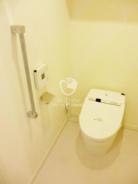 パークアクシス御成門[1403号室]のトイレ パークアクシス御成門