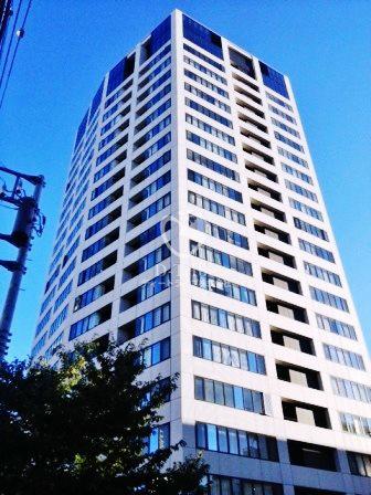 パークキューブ目黒タワー[512号室]の外観 パークキューブ目黒タワー