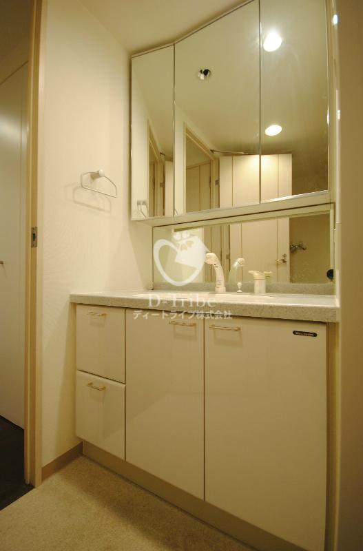 トレステージ目黒[601号室]の洗面台 トレステージ目黒
