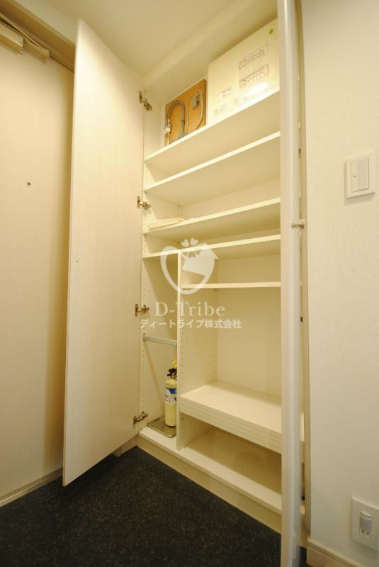 トレステージ目黒[601号室]の収納 トレステージ目黒