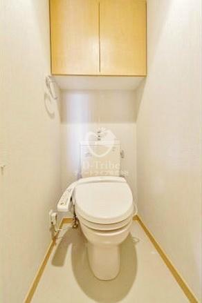 MFPR目黒タワー[1209号室]のトイレ MFPRコート目黒南
