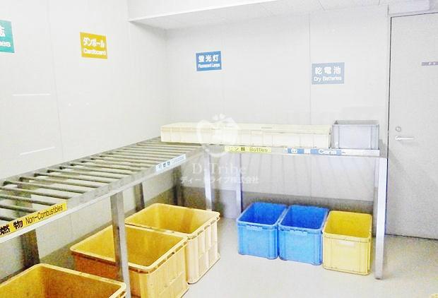 ごみ置き場 恵比寿ガーデンテラス弐番館
