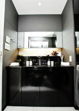 東京ミッドタウン・レジデンシィズ[1401号室]の独立洗面台 東京ミッドタウン・レジデンシィズ