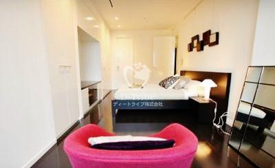 東京ミッドタウン・レジデンシィズ[1401号室]のリビング 東京ミッドタウン・レジデンシィズ