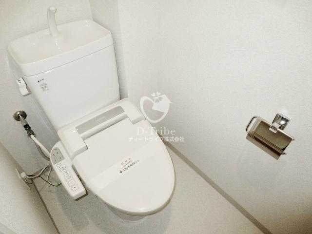 パークキューブ東品川[804号室]のトイレ パークキューブ東品川