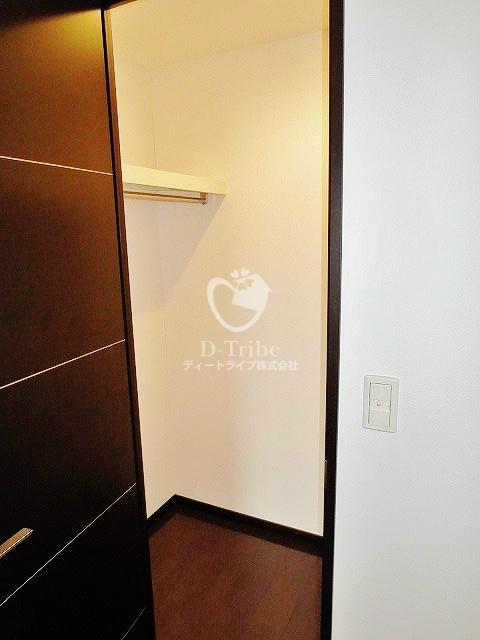 レキシントンスクエア白金高輪[2201号室]の収納 レキシントンスクエア白金高輪