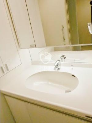 レキシントンスクエア白金高輪[1801号室]の独立洗面台 レキシントンスクエア白金高輪