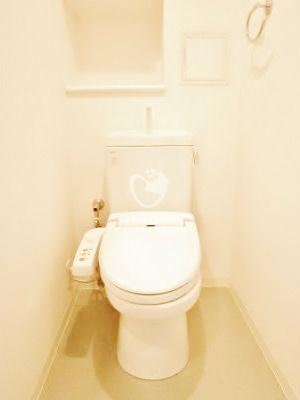 レキシントンスクエア白金高輪[1801号室]のトイレ レキシントンスクエア白金高輪