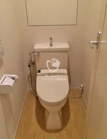 リバージュ品川[502号室]のトイレ リバージュ品川