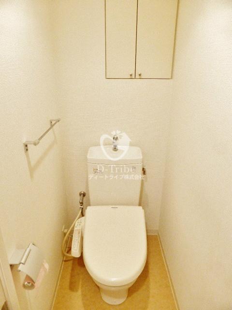 パークアクシス南麻布[201号室]のトイレ パークアクシス南麻布