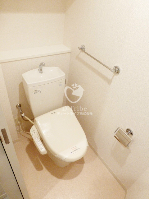 パークアクシス六本木檜町公園[206号室]のトイレ パークアクシス六本木檜町公園