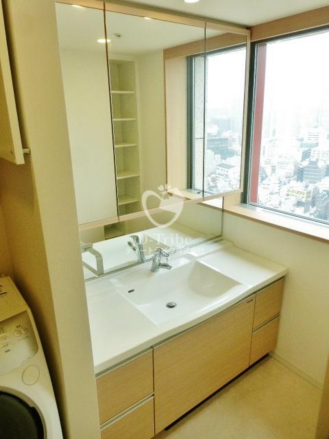 MOMENTO SHIODOME(モメント汐留)[1610号室]の独立洗面台 MOMENTO SHIODOME